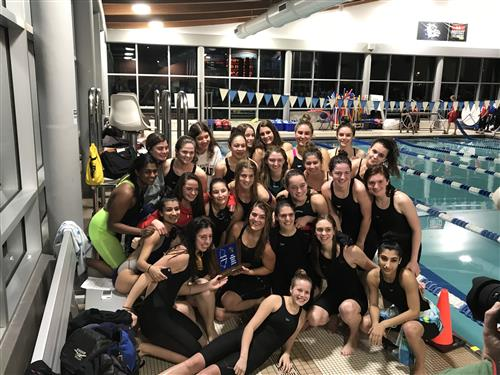 2019 Girls Swimming Sectional Champs